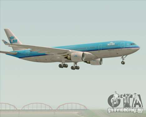 Airbus A330-200 KLM - Royal Dutch Airlines для GTA San Andreas вид справа