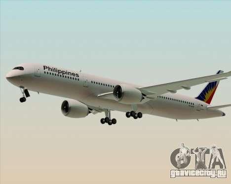 Airbus A350-900 Philippine Airlines для GTA San Andreas вид слева