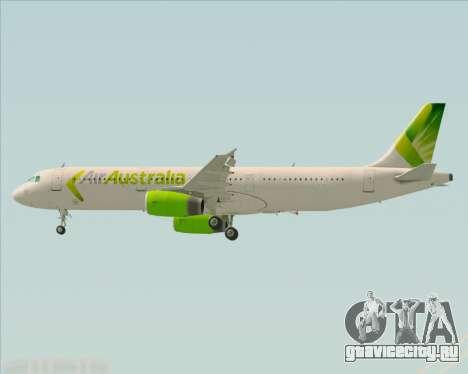 Airbus A321-200 Air Australia для GTA San Andreas двигатель