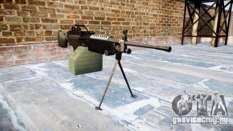 Ручной пулемёт M249 SAW для GTA 4