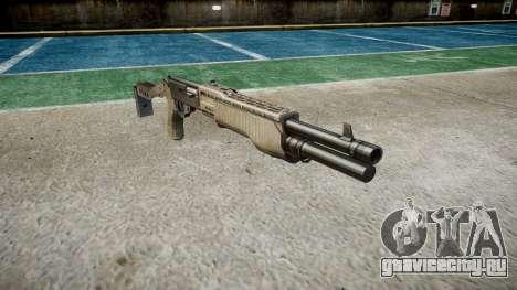 Ружьё Franchi SPAS-12 A-TACS AU для GTA 4