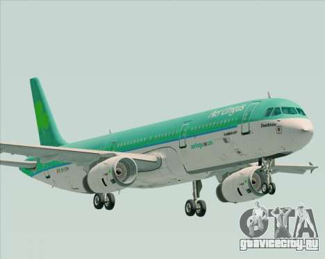 Airbus A321-200 Aer Lingus для GTA San Andreas