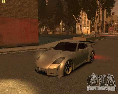 Nissan 350Z для GTA 4