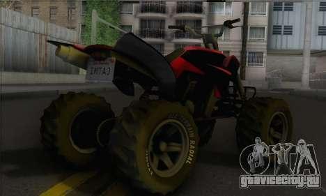Quad from GTA 5 для GTA San Andreas вид слева