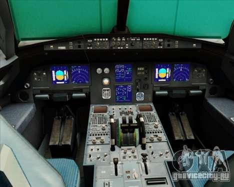 Airbus A321-200 Austrian Airlines для GTA San Andreas салон