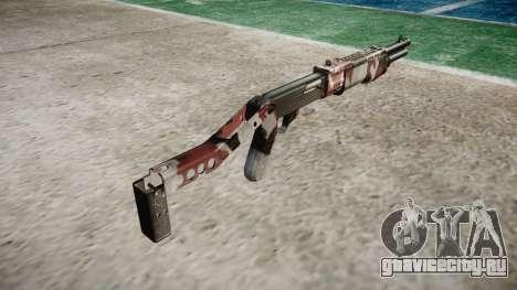 Ружьё Franchi SPAS-12 Bloodshot для GTA 4 второй скриншот