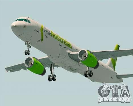 Airbus A321-200 Air Australia для GTA San Andreas