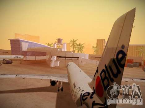 Airbus A321-232 jetBlue I love Blue York для GTA San Andreas