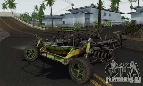 Devilbwoy Buggy для GTA San Andreas вид слева