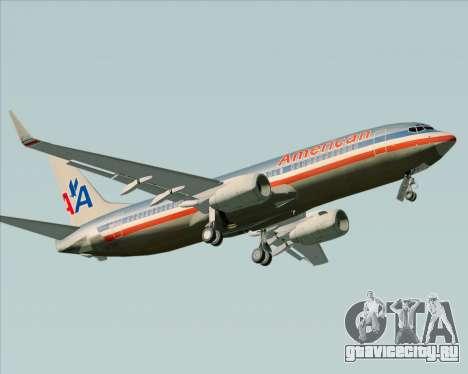 Boeing 737-800 American Airlines для GTA San Andreas вид слева