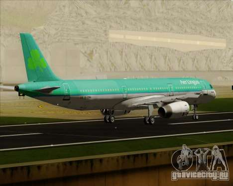 Airbus A321-200 Aer Lingus для GTA San Andreas вид справа