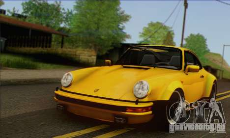 Porsche 930 Turbo Look 1985 Tunable для GTA San Andreas