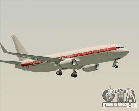 Boeing 737-800 EG&G - Janet для GTA San Andreas