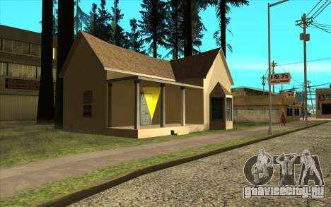 Новый дом CJ в Angel Pine для GTA San Andreas второй скриншот
