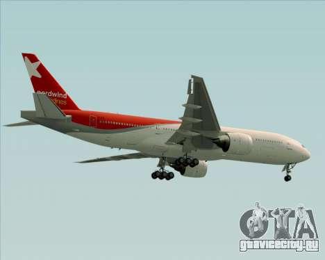Boeing 777-21BER Nordwind Airlines для GTA San Andreas колёса