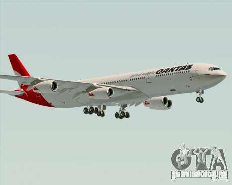Airbus A340-300 Qantas для GTA San Andreas вид сбоку