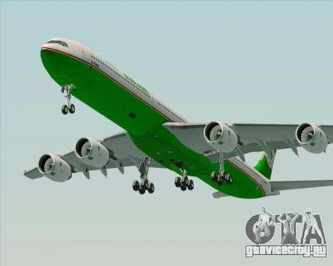 Airbus A340-600 EVA Air для GTA San Andreas двигатель