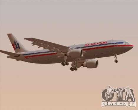 Airbus A300-600 American Airlines для GTA San Andreas вид справа