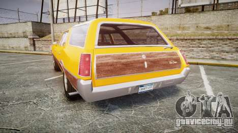Oldsmobile Vista Cruiser 1972 Rims2 Tree3 для GTA 4 вид сзади слева