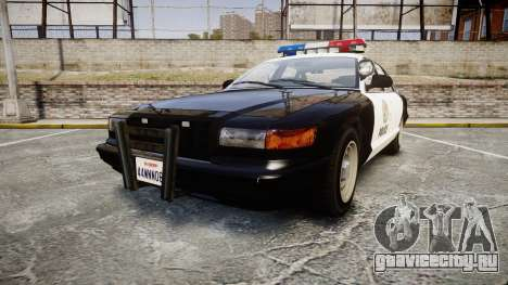Vapid Police Cruiser MX7000 для GTA 4