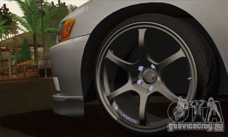 Toyota Mark 2 для GTA San Andreas вид сзади слева