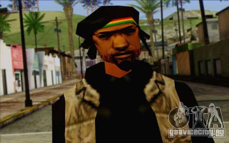 Yardies from GTA Vice City Skin 2 для GTA San Andreas третий скриншот