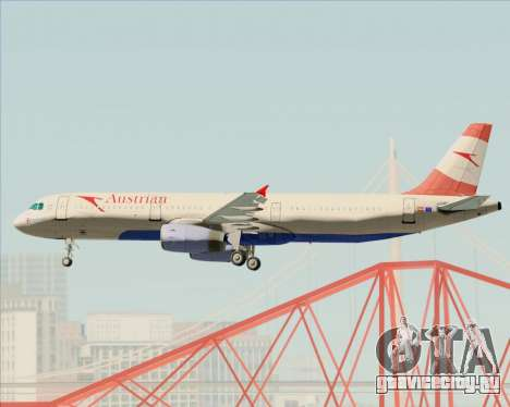 Airbus A321-200 Austrian Airlines для GTA San Andreas колёса