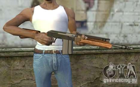Сайга (Firearms) для GTA San Andreas третий скриншот