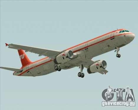 Airbus A321-200 LTU International для GTA San Andreas вид сзади