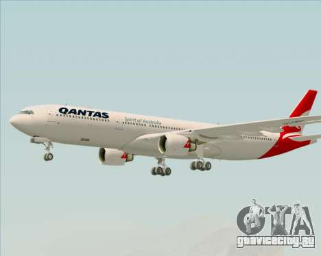 Airbus A330-300 Qantas (New Colors) для GTA San Andreas
