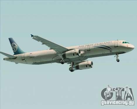Airbus A321-200 Air New Zealand для GTA San Andreas вид справа