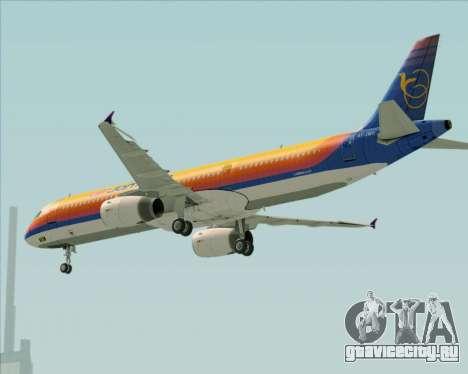 Airbus A321-200 Air Jamaica для GTA San Andreas колёса