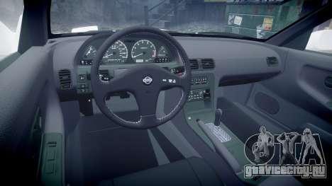 Nissan 240SX S13 для GTA 4 вид сзади