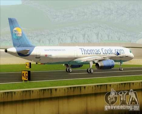 Airbus A321-200 Thomas Cook Airlines для GTA San Andreas вид сбоку