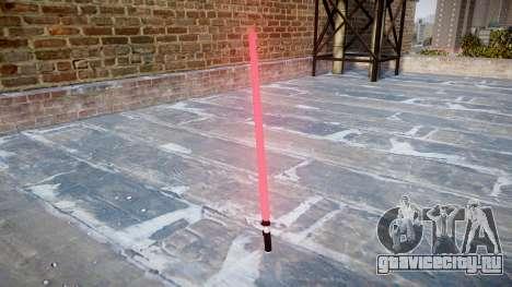 Лазерный меч для GTA 4 второй скриншот