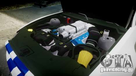Ford Mustang GT 2014 Custom Kit PJ4 для GTA 4 вид сбоку