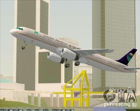 Airbus A321-200 Saudi Arabian Airlines для GTA San Andreas