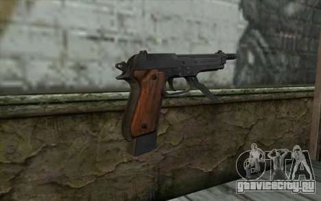 Beretta 93R для GTA San Andreas второй скриншот