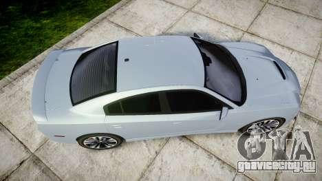 Dodge Charger SRT8 для GTA 4 вид справа