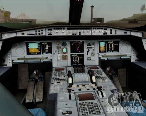 Airbus A350-900 Philippine Airlines для GTA San Andreas салон