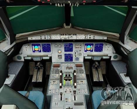 Airbus A321-200 Air Jamaica для GTA San Andreas салон