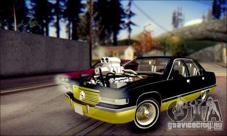 Cadillac Fleetwood 1993 Lowrider для GTA San Andreas