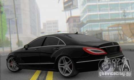 Mercedes-Benz CLS 63 для GTA San Andreas вид слева