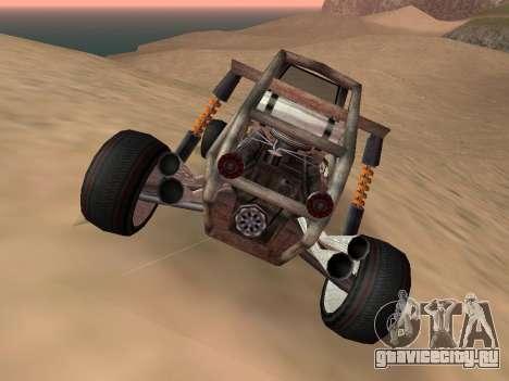 Обновлённый Bandito для GTA San Andreas для GTA San Andreas вид сзади слева