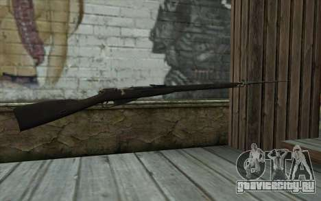 Винтовка Мосина v14 для GTA San Andreas второй скриншот