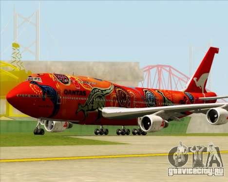 Boeing 747-400ER Qantas (Wunala Dreaming) для GTA San Andreas вид слева