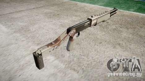 Ружьё Franchi SPAS-12 Choco для GTA 4 второй скриншот