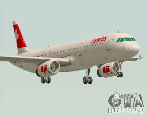 Airbus A321-200 Swiss International Air Lines для GTA San Andreas