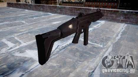 Пистолет-пулемет SMT40 with butt icon1 для GTA 4 второй скриншот