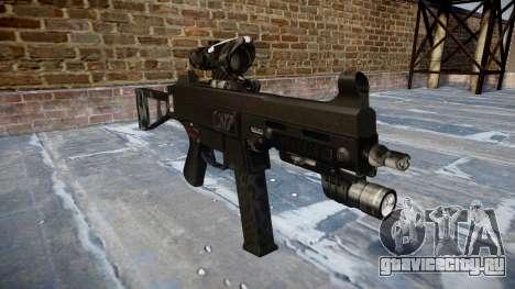Пистолет-пулемёт UMP45 Kryptek Typhon для GTA 4